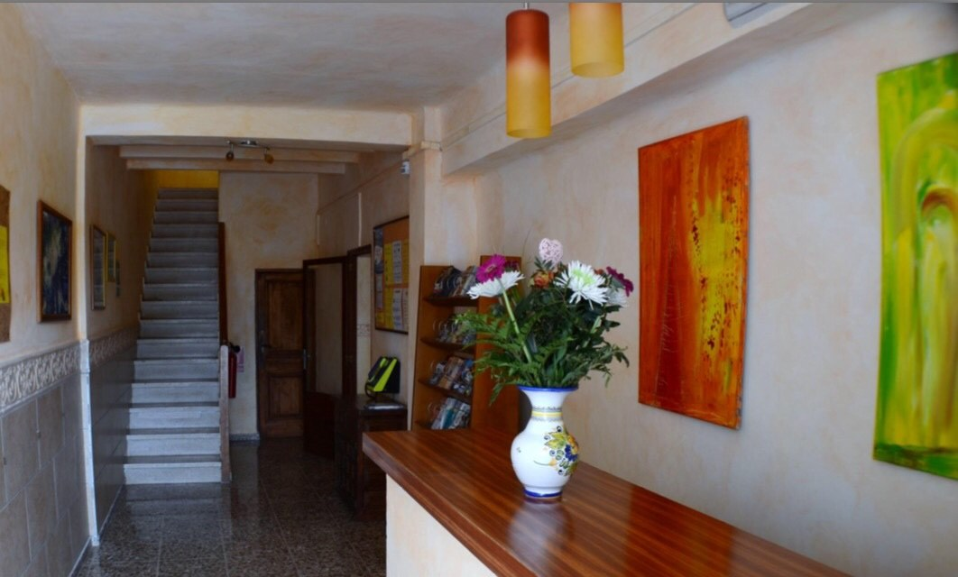 Newly renovated hostal with 24 rooms with a long tradition