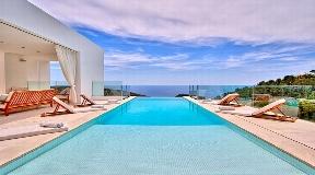 New Luxury Villa on Top of Cala Olivera on Ibiza