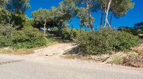 Amazing plot in Can Furnet with Dalt Vila views