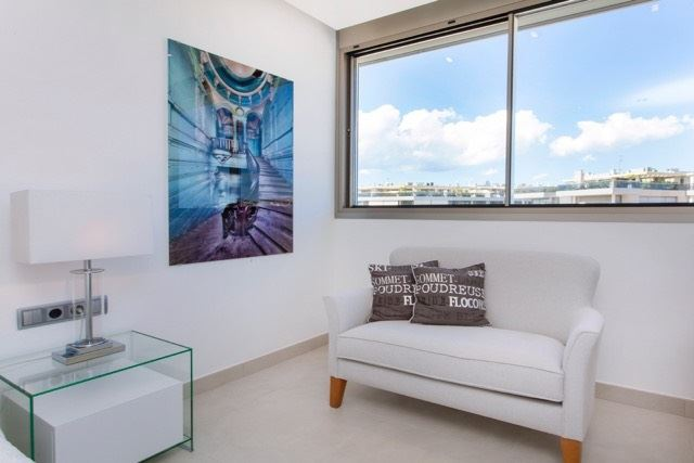 Marvellous apartment in the Miramar building of Marina Botafoch with an attractive views