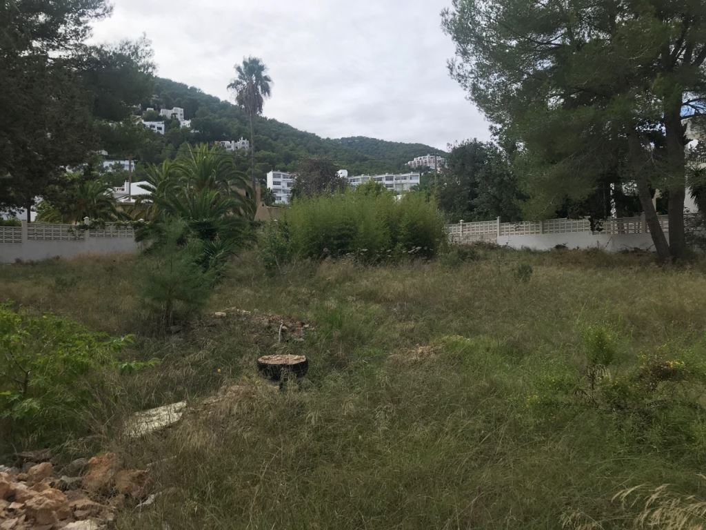 Nice project for sale in Siesta Santa Eulalia
