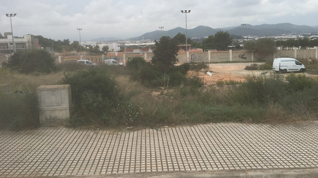 Plot for sale in Ibiza Ses Towers