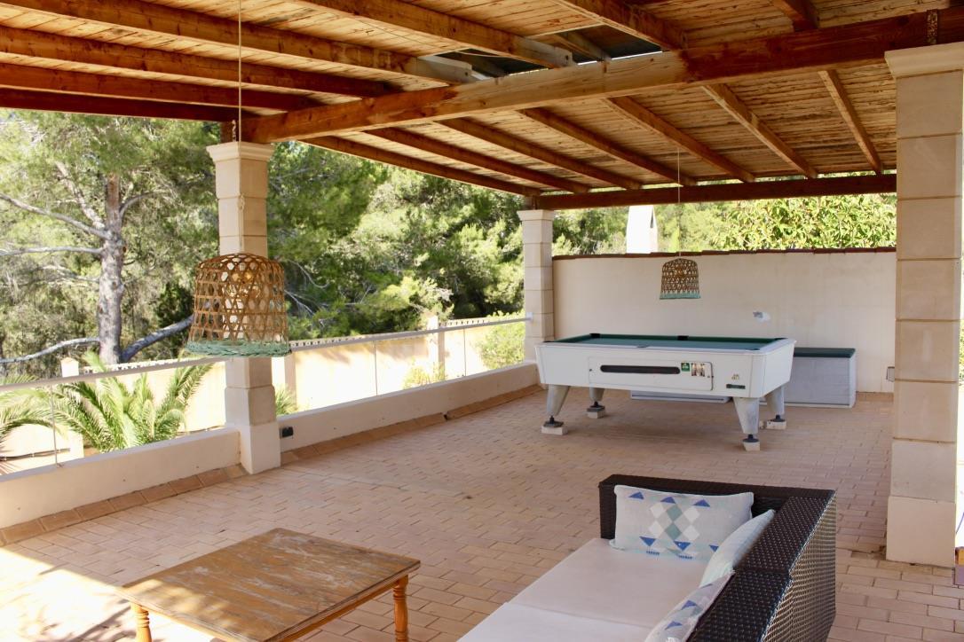 Detached villa in the area of Cala Tarida