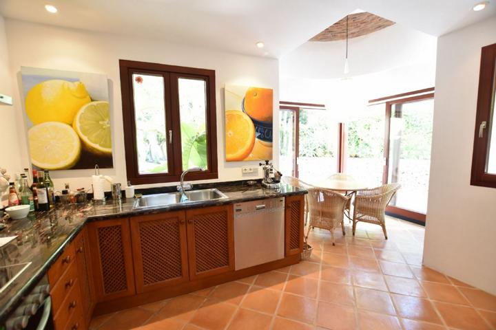 High quality property in the Cala Vadella - Ibiza