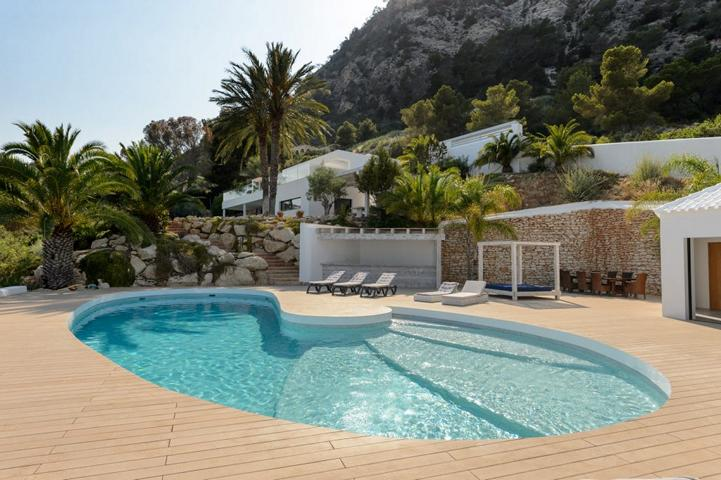 Absolutely stunning villa with amazing sea views in Es Cubells Ibiza