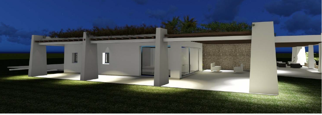 Newly built Villa for sale in Porroig with beautiful views