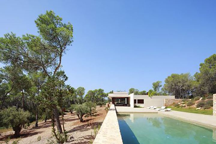 Minimalistic Design Villa with sea view not far from Cala Jondal