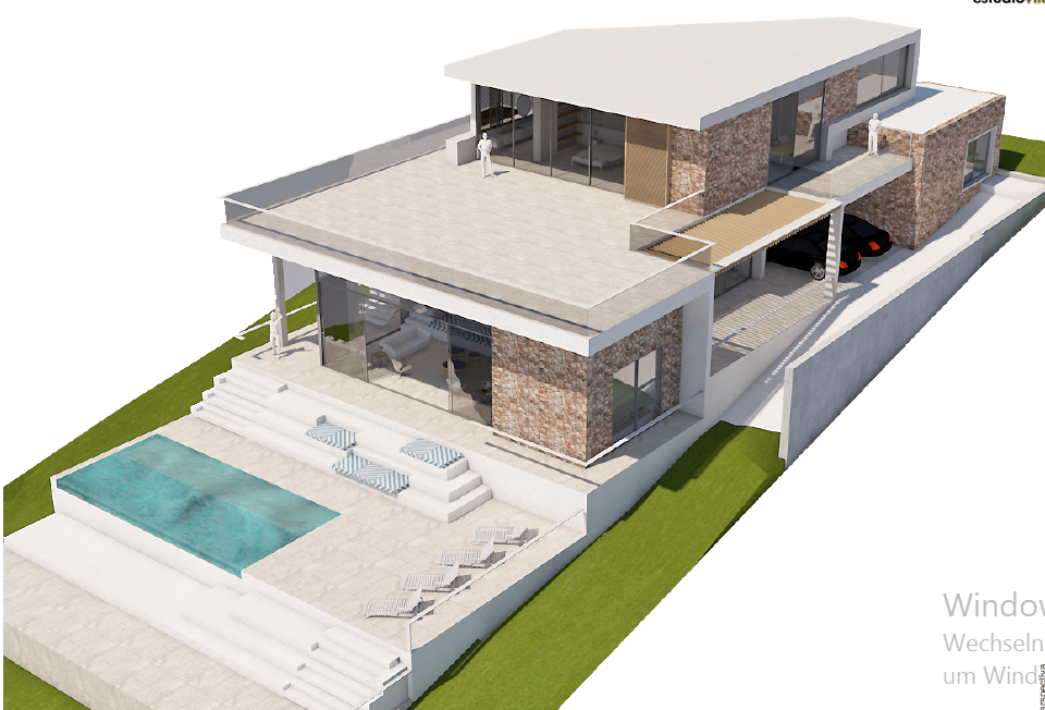 Project with licence in Vista Alegra with amazing sea views