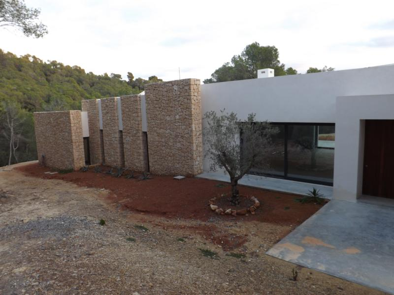Newly built villa with sea views in Es Porrig for sale