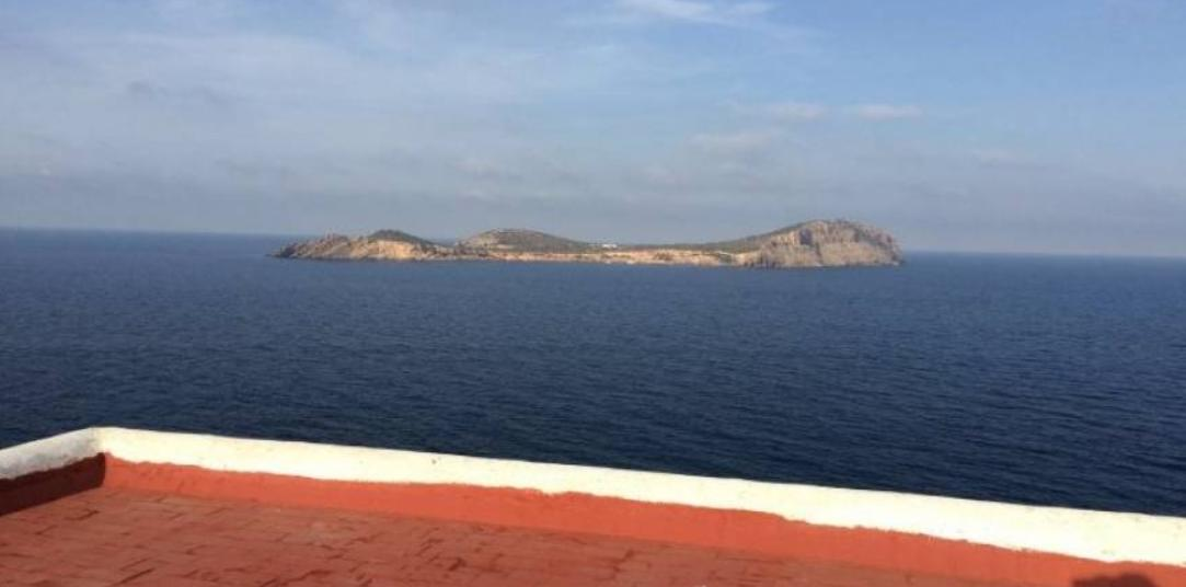 House for sale first line of the Sea in the north of Ibiza