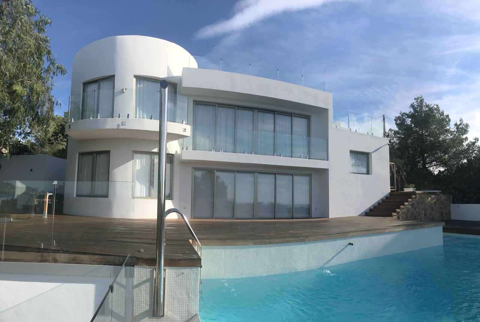 House in Cala Salada with unique design and dream sea view