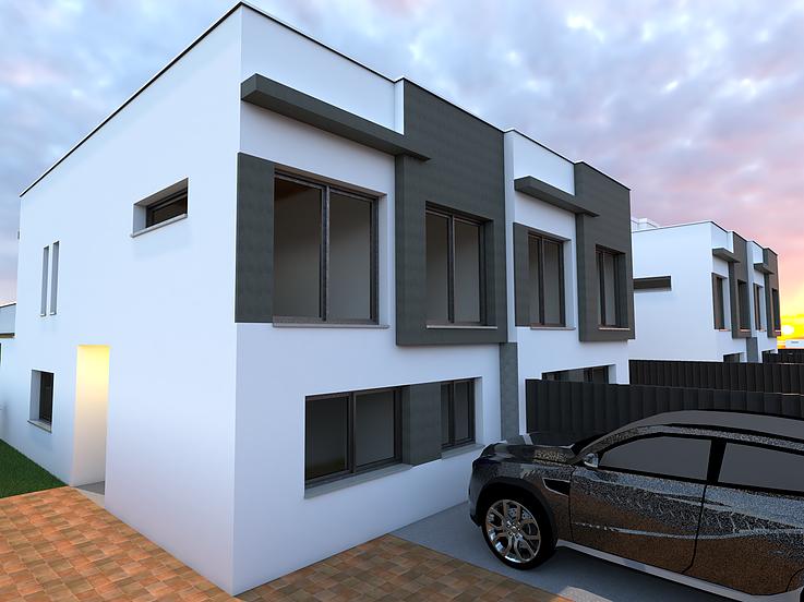 New built villa with private pool close to Ibiza centre