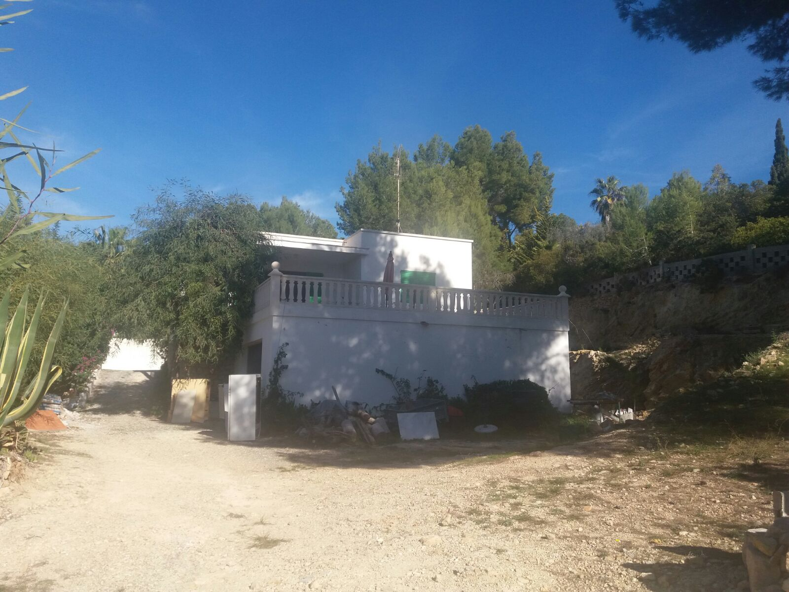 Old house with 124m2 and plot of 4000m2 in Can Germa