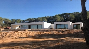 New build villa in San Augustin with big land