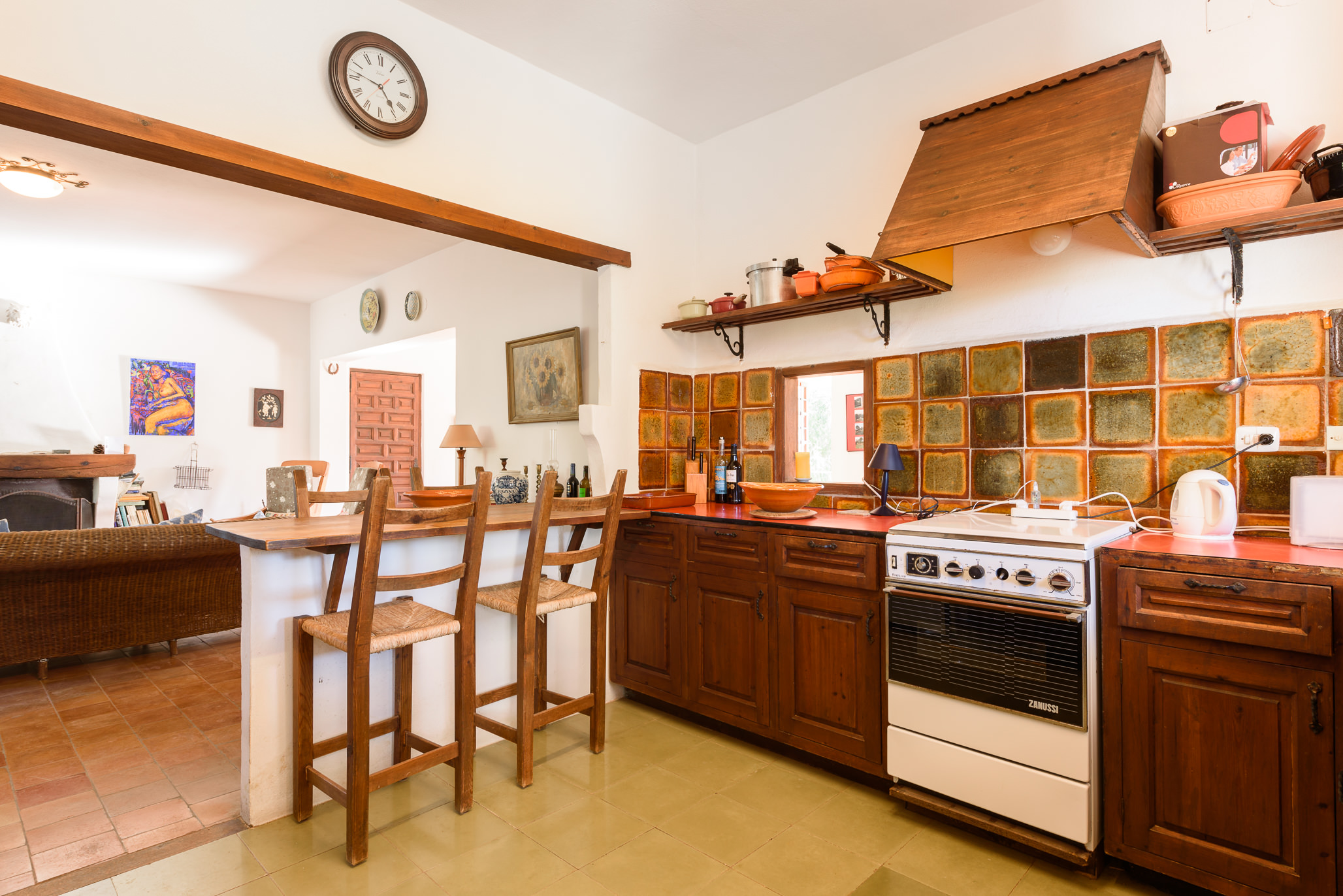 Charming Ibiza style house for sale in Santa Eularia