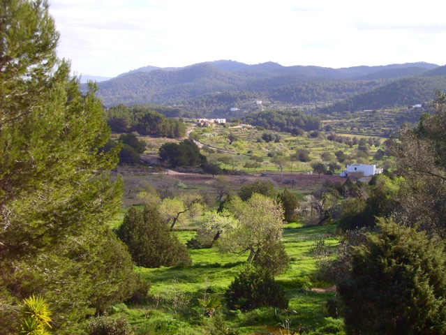 Very nice finca with dream views in Benimussa with wonderful garden