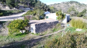 Rustic finca in a rural area of San Juan with a huge plot and amazing sea views
