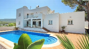 Modern Ibiza style house for sale in Cala Vadella