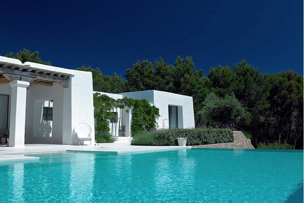 Luxury Blakstad Ibiza villa with sea views