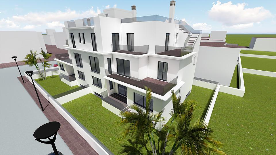 Duplex apartments in the center of Jesus