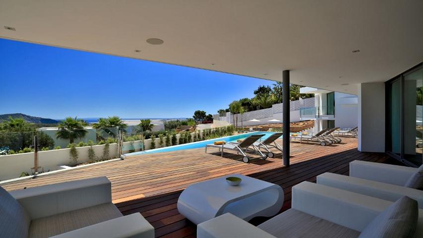 Dream Villa in Es Cubells for sale with fantastic views to the See