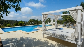 Ibiza classic villa style with sea views to Cala Jondal with rental licence