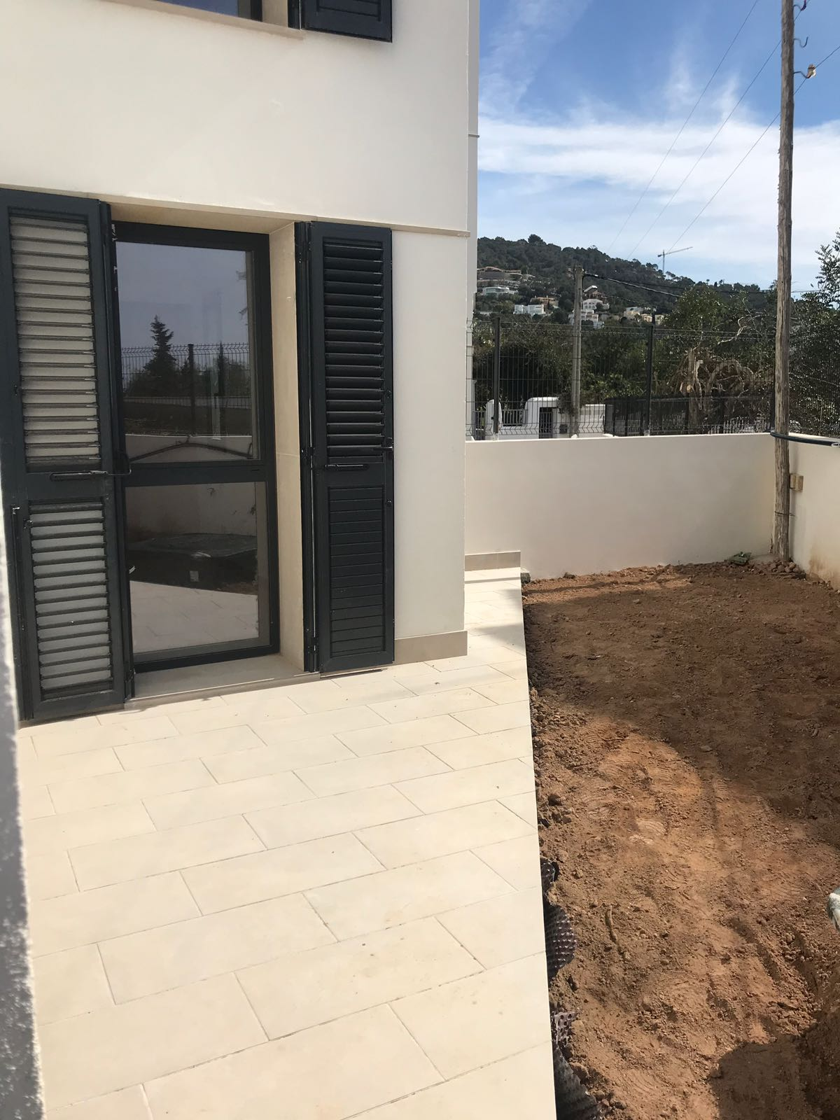 Brand new built ground floor apartment  in Jesus Talamanca with private pool