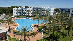 Ground floor apartment 100meters to the beach in Santa Eulalia