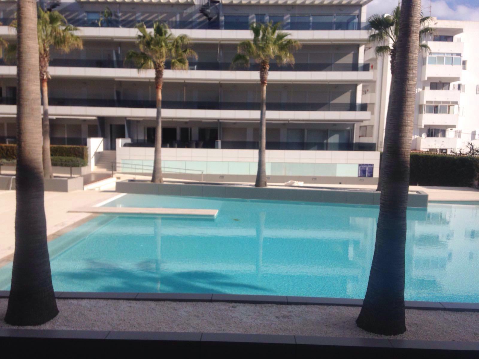 Luxury ground floor apartment located in the quiet area of Playa den Bossa