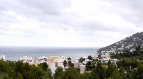Villa in a quiet area of Santa Eulalia with 360º views to the sea