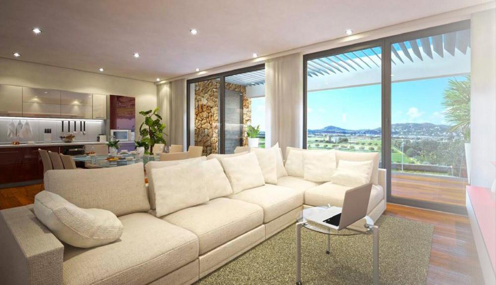 Newly built community of 9 apartments near Ibiza