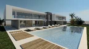 Beautiful plot with sea views located in the center of Cala Tarida