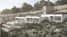 Urban Plot of 2300m2 in first line to the sea in Roca Llisa