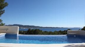 Villa located in Cala Gracio with fantastic views