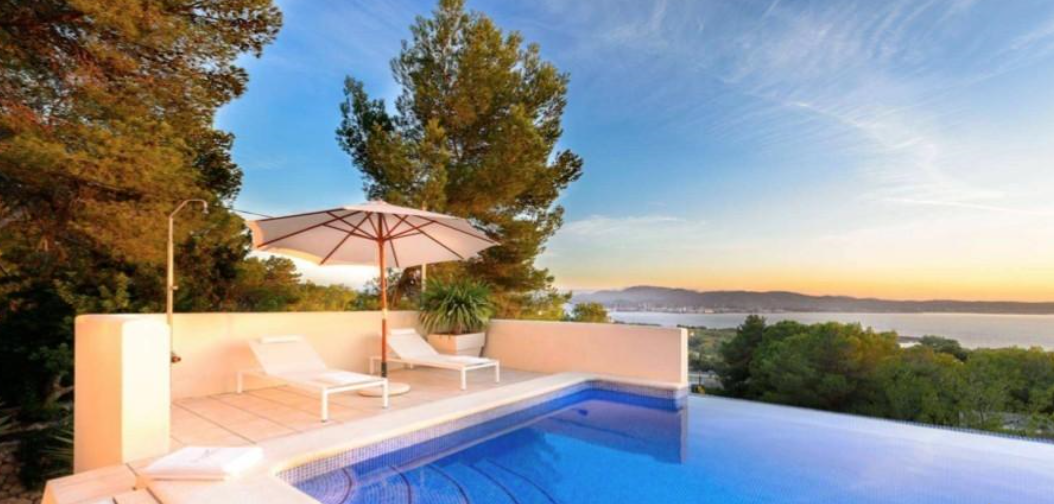 Villa located in Cala Gracio with fantastic views