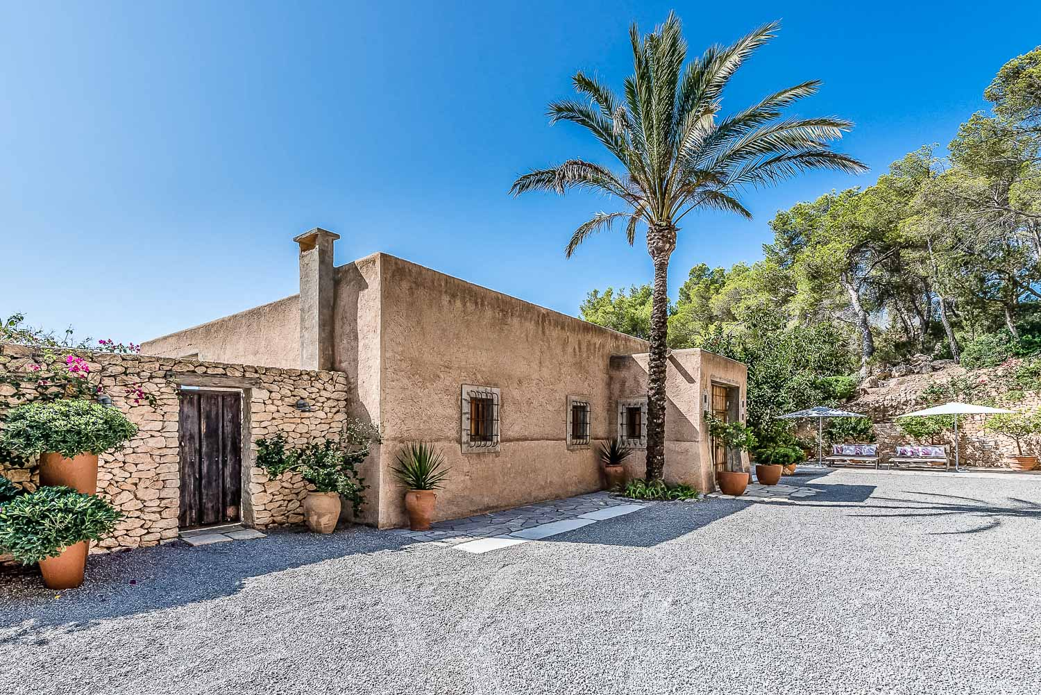 A luxury villa like no other in Ibiza in Es Cubells