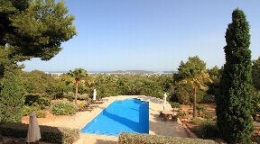 Beautiful property located on a hill near Cala Jondal