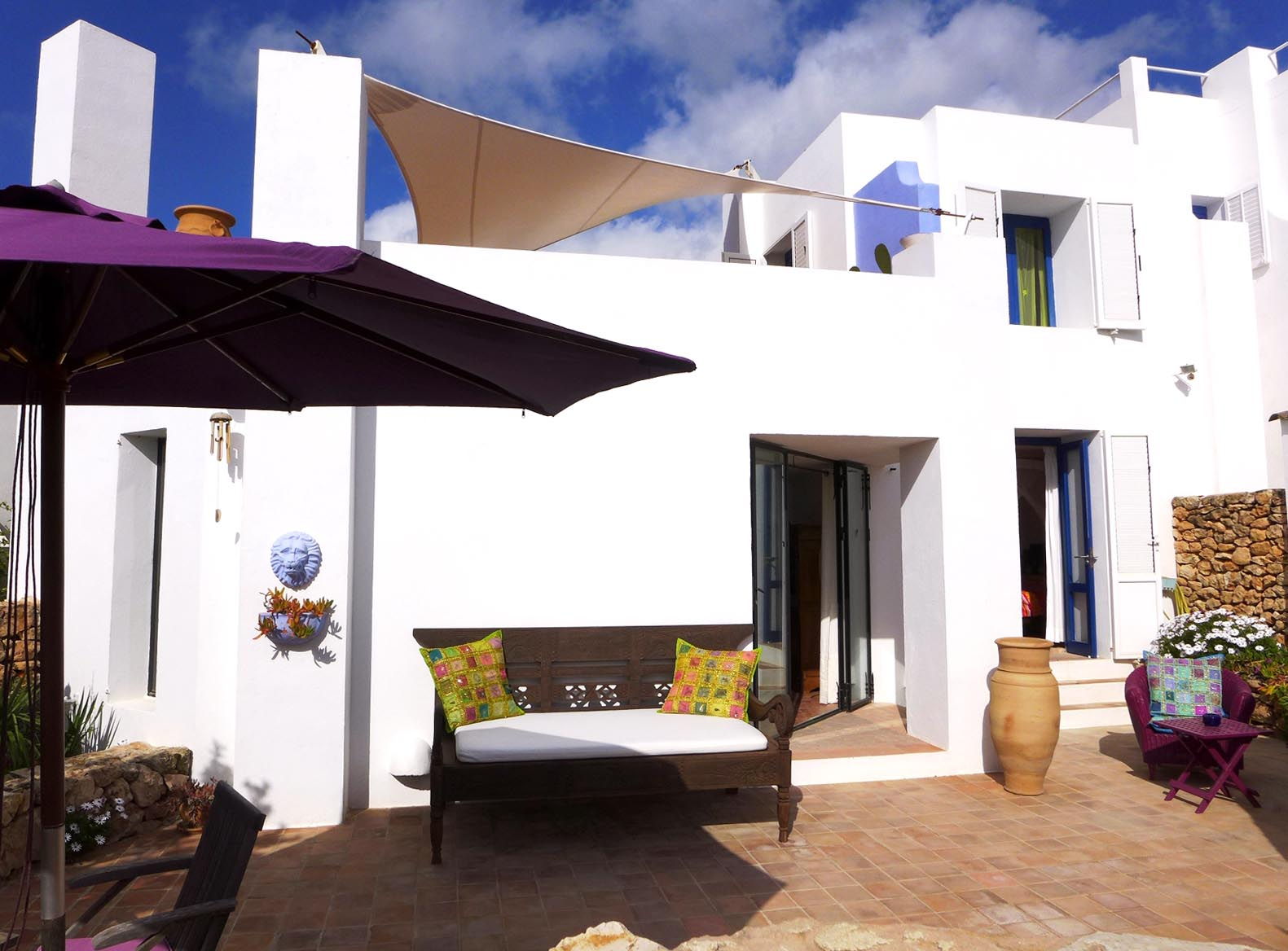 Charming terraced house located on the west coast of the island
