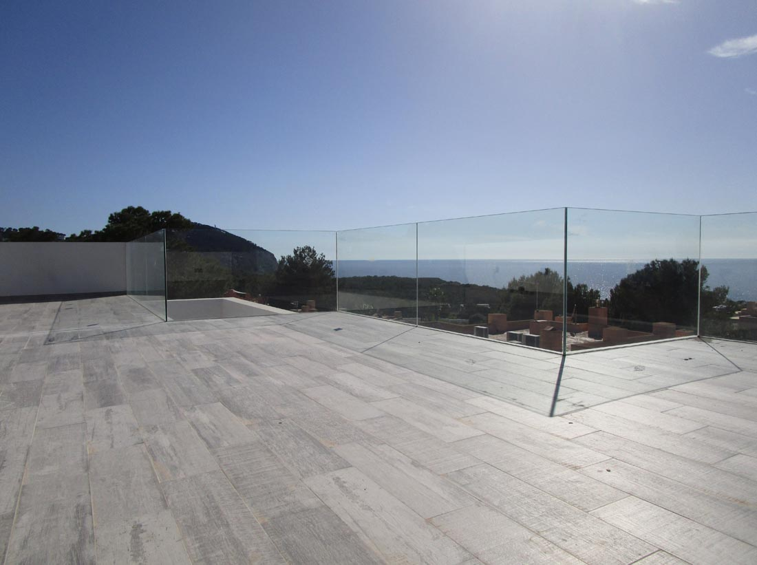 Contemporary new villa located in Calo de Real on the west coast from Ibiza
