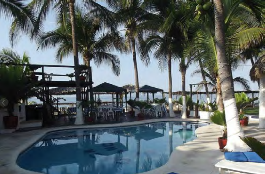 Opportunity exclusive sale dream pacific coast beach front hotel Acapulco