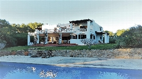 Ibiza style villa in the north of the island