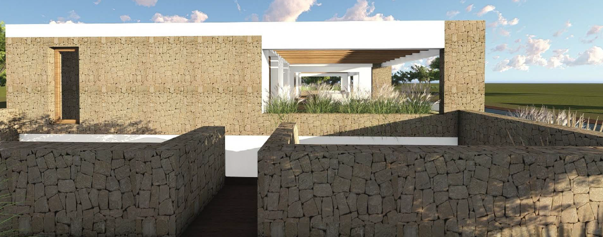 Plot from 30000m2 with structure for sale in in Porroig