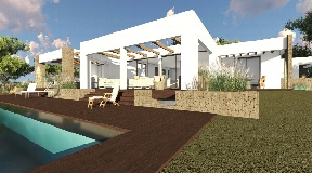Plot from 30000m2 with licence in Porroig for a villa with 500m2 living area
