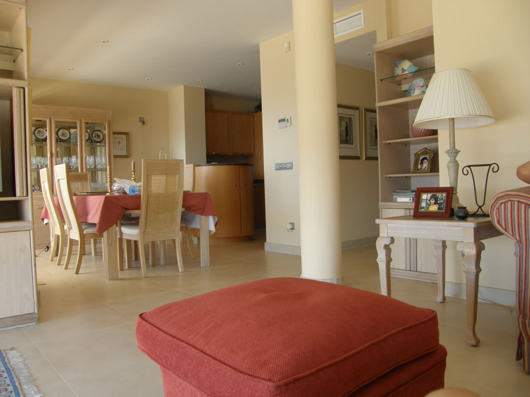 Front Apartment in the center of Ibiza city