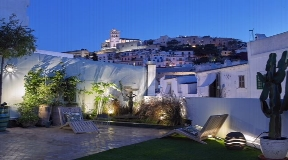Beautifully restored and refurbished townhouse for sale in old town of Ibiza