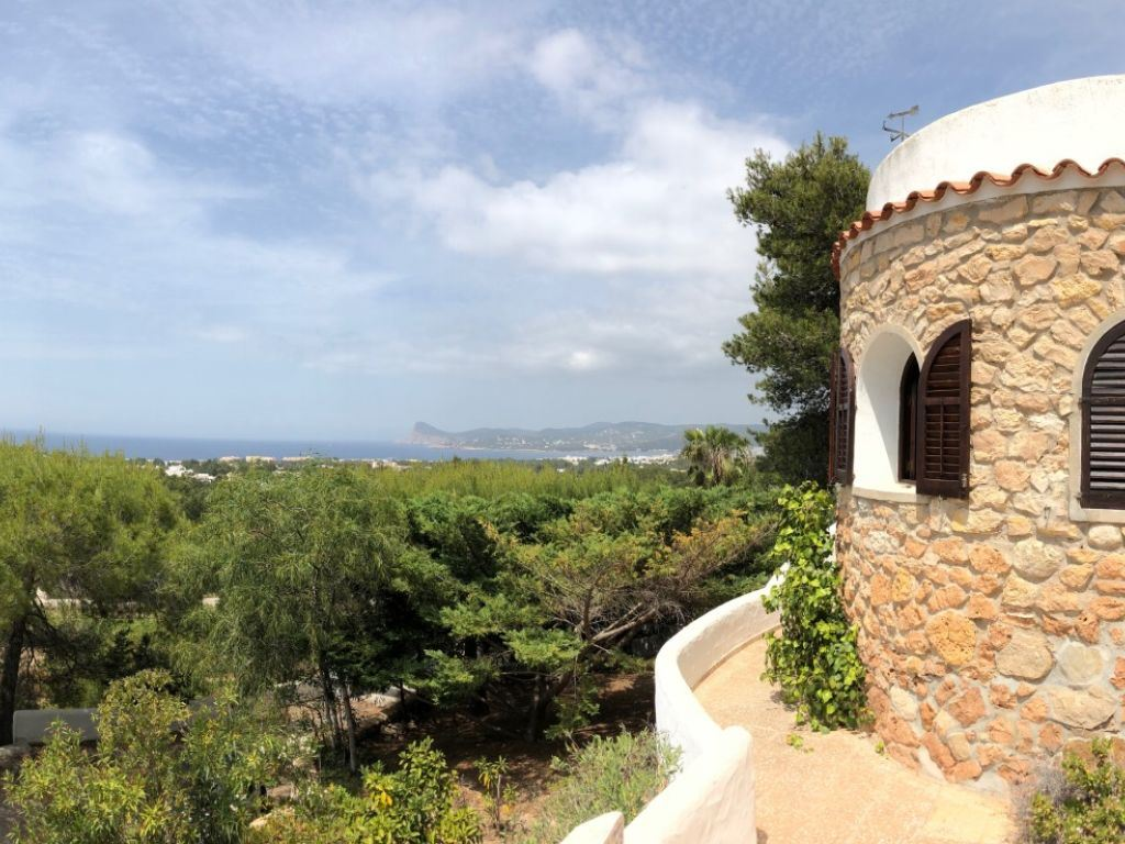 Charming house with unique sea views nea Cala Bassa