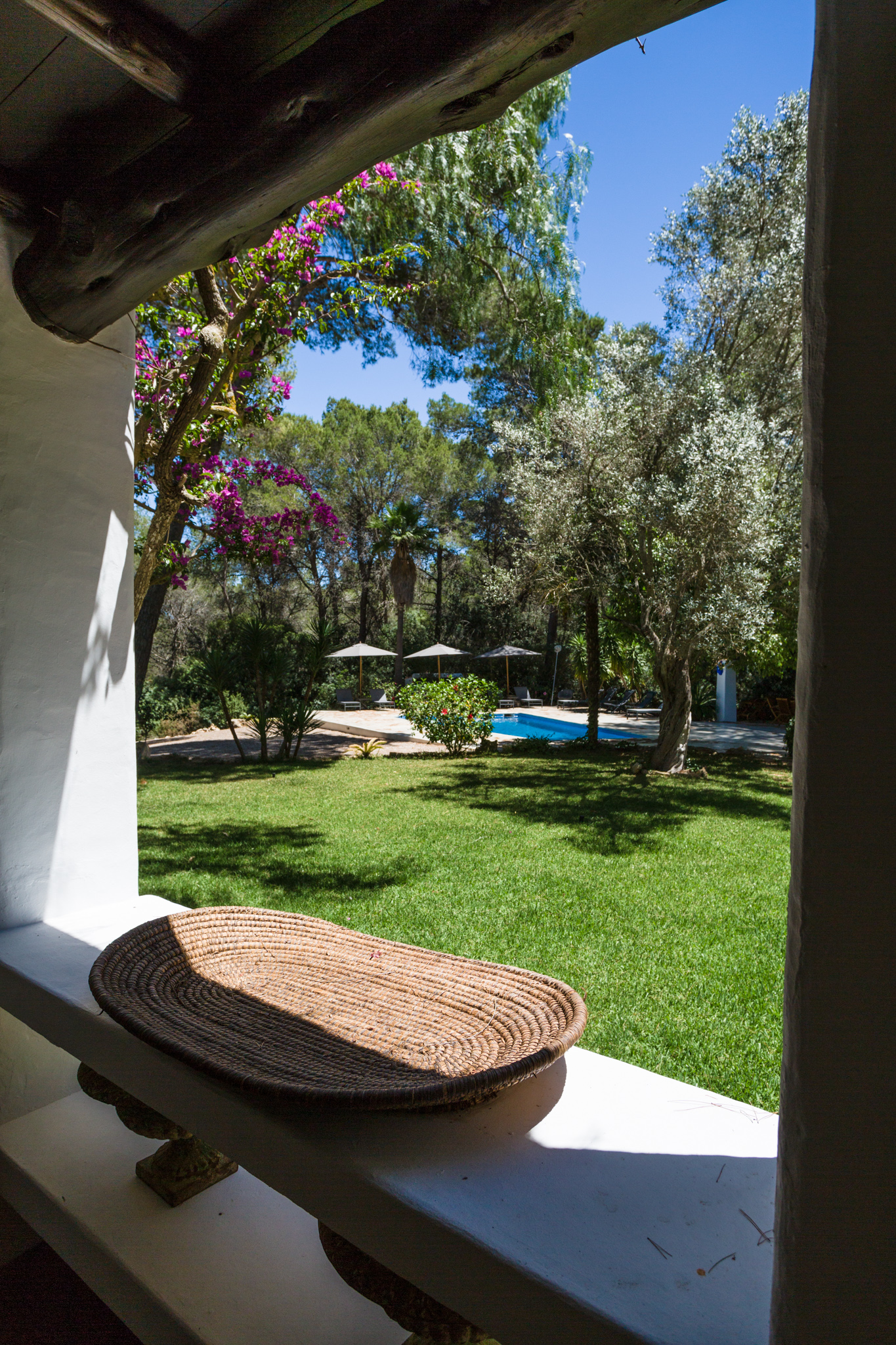 A beautiful country finca in Santa Gertrudis with super views of D'alt Vila and out to sea