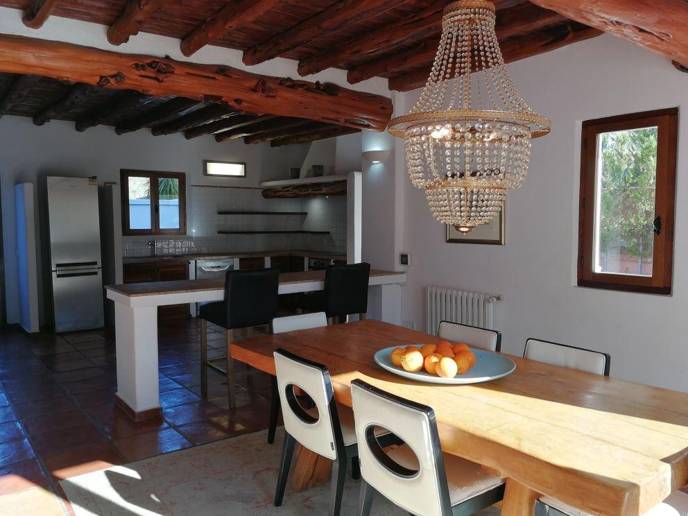 Spectacular house en ibicenco style completely renovate near Ibiza
