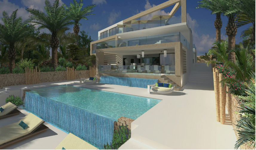 Plot with project in Cap Martinet