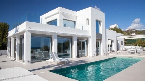 Modern Villa with breathtaking view of the sea and Formentera